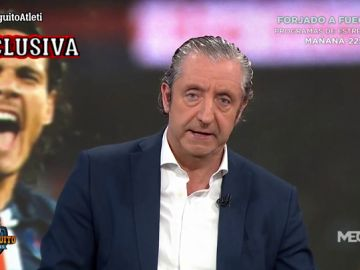 """Josep Pedrerol: """"Gil Marín le ha dicho al hermano de Cavani que el Atleti estaría dispuesto a llegar a los 15M€ de traspaso"""""""