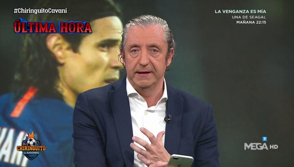 """Josep Pedrerol: """"La sensación de Cavani es que el PSG no va a ceder"""""""