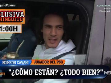Álex Silvestre vuelve a 'cazar' a Cavani y a Leonardo