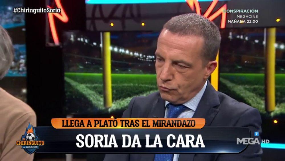 Cristobal Soria da la cara tras la eliminación del Sevilla en Copa del Rey