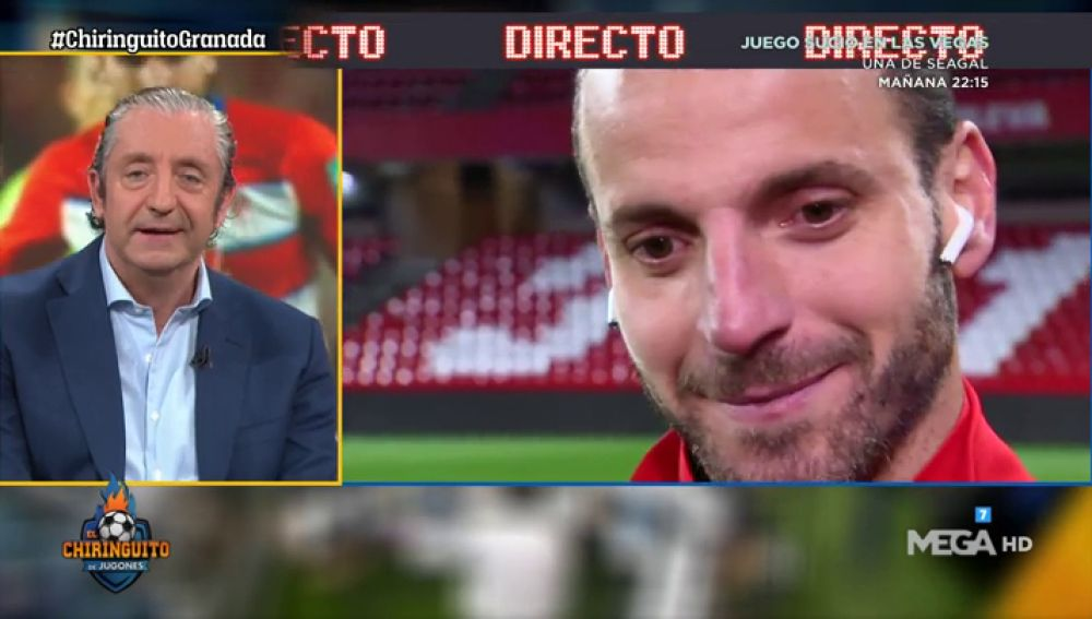 Roberto Soldado, en directo con El Chiringuito