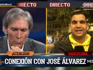 "José Álvarez: ""Si continúa esta directiva, Messi plantea irse este verano"""