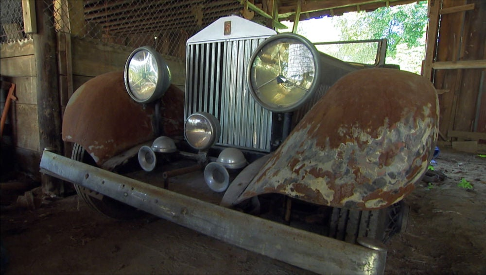 Un Rolls Royce de los años 20