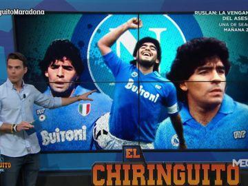 Diego Plaza muestra el legado de Maradona en Nápoles