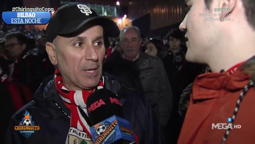La afición del Athletic se queda con ganas de más y se queja del arbitraje