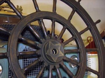 un timón del siglo XIX