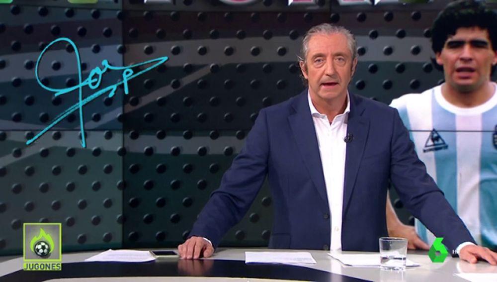 """Josep Pedrerol: """"¿Messi o Maradona? En Argentina lo tienen claro... El que ganó el mundial"""""""