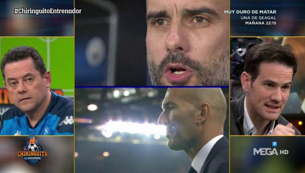 Pep Guardiola o Zidane, ¿quién es mejor entrenador?