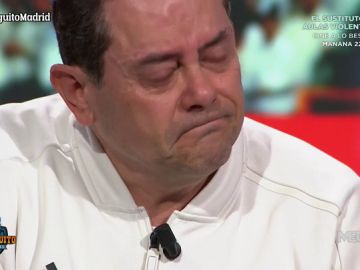 Roncero rompe a llorar tras la derrota del Madrid pensando en su hijo Marcos