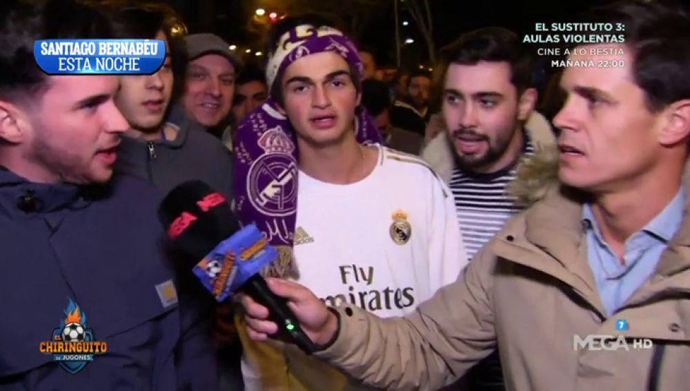 Bajón total de los aficionados madridistas tras la derrota frente al City