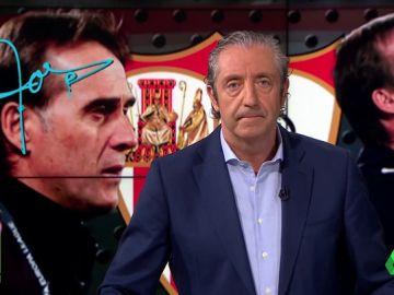 "Josep Pedrerol: ""Fichar a un delantero de verdad no es responsabilidad de Lopetegui"""
