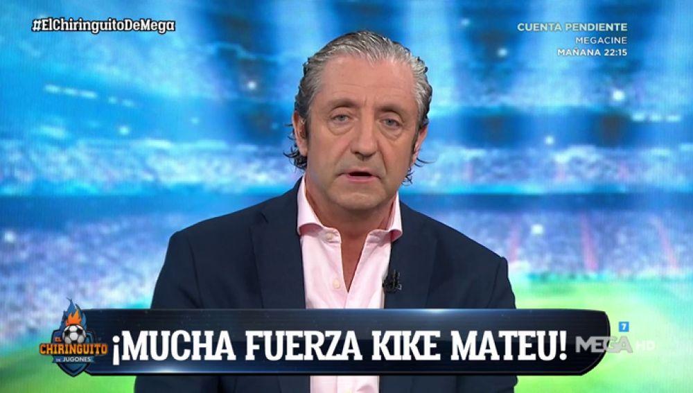 Ánimo, Kike Mateu