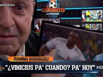 """""""¿Y Vinicius pa' cuando? ¡Pa' hoy!"""""""