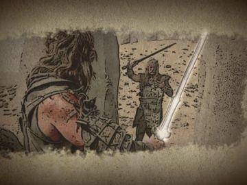 Los armeros de 'Forjado a fuego' replican la espada de Conan el Bárbaro