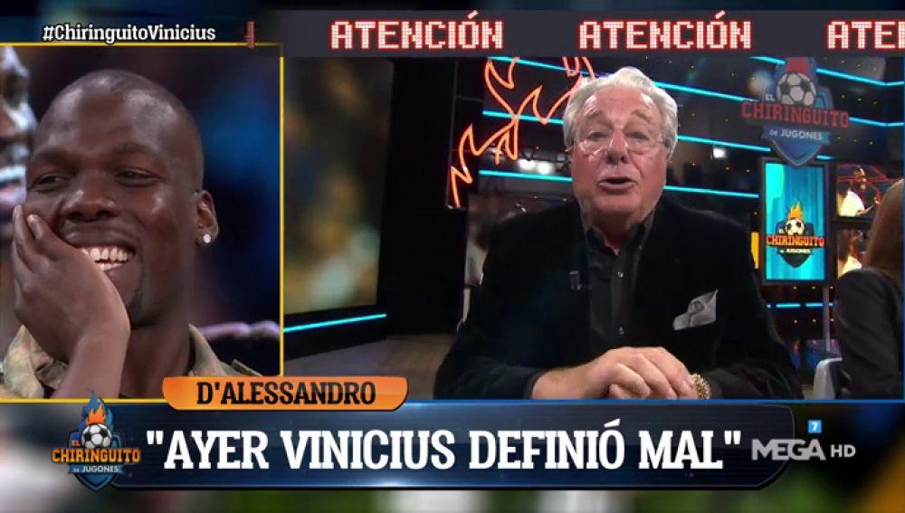 """Matías Pogba: """"Vinicius me gustó por primera vez en el Real Madrid"""""""