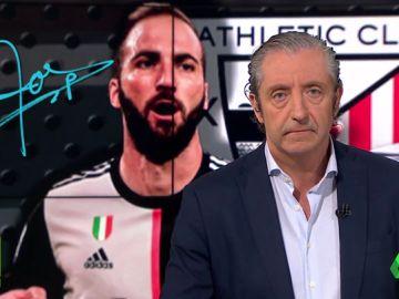 """Josep Pedrerol: """"Ni Higuaín ni historias. El Athletic es un sentimiento"""""""