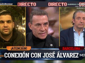 """José Álvarez: """"Neymar y Lautaro Martínez son los objetivos del Barça para este verano"""""""