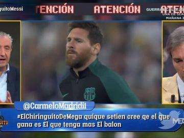 """Josep Pedrerol: """"Messi se ha quedado solo. Lo veo triste"""""""