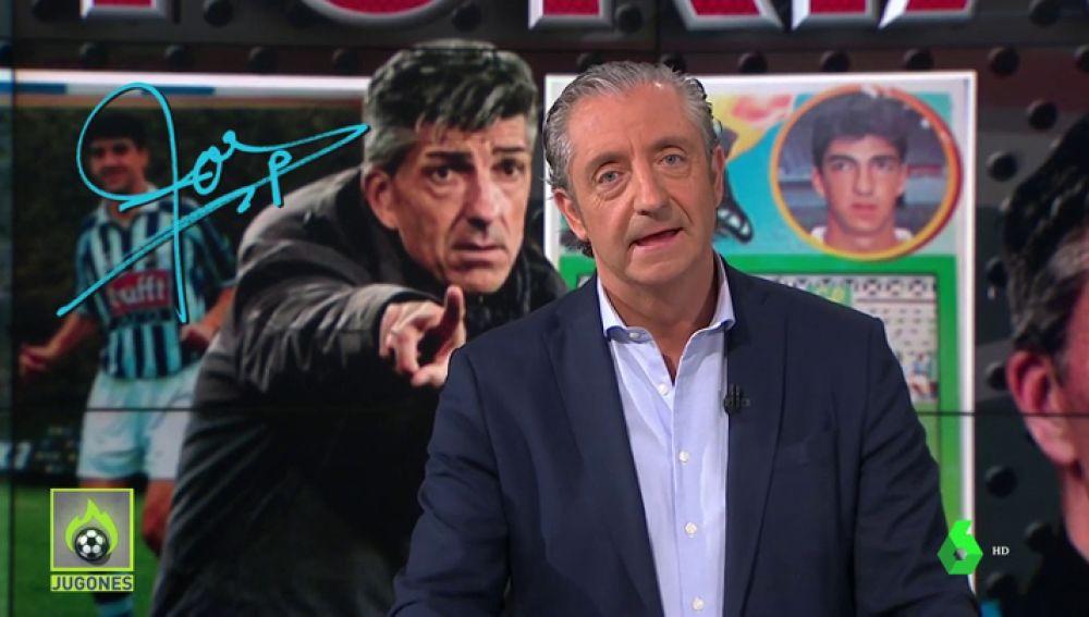 """Josep Pedrerol: """"Enhorabuena, Imanol. Has llevado a la Real a la final de Copa 32 años después"""""""