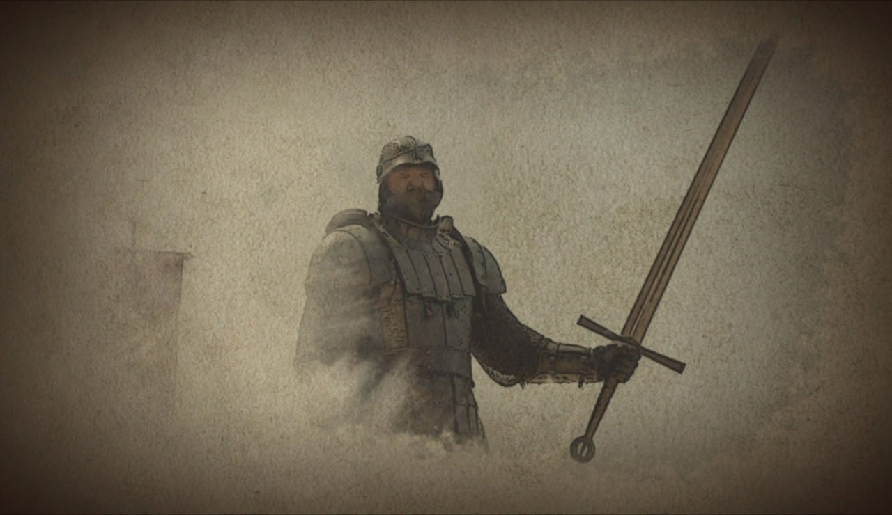 La espada de 'la montaña' de 'Juego de Tronos'