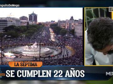 Fernando Sanz se derrumba recordando a su padre Lorenzo en el aniversario de la Séptima