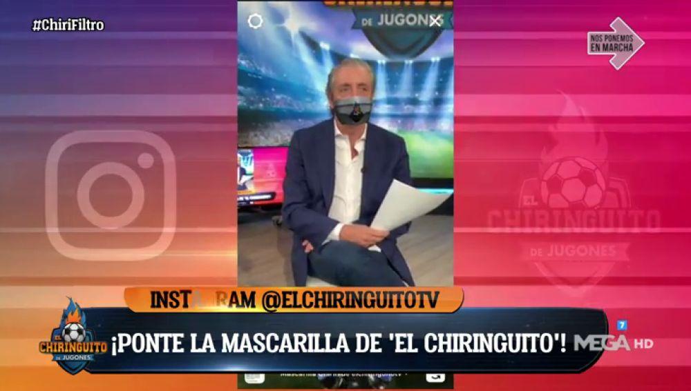 ¡PRUEBA EL NUEVO CHIRI FILTRO DE LA MASCARILLA!