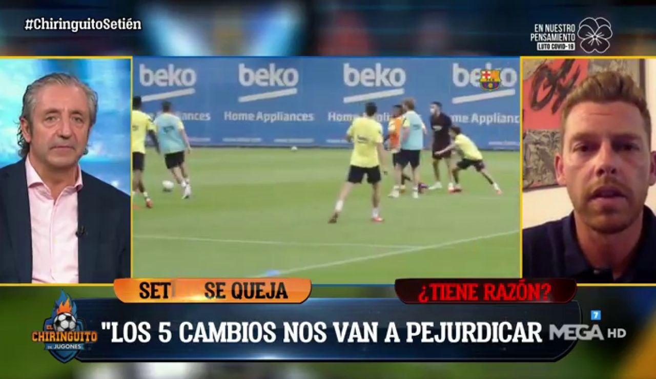 """Josep Pedrerol: """"Este es el Barça más victimista del mundo"""""""