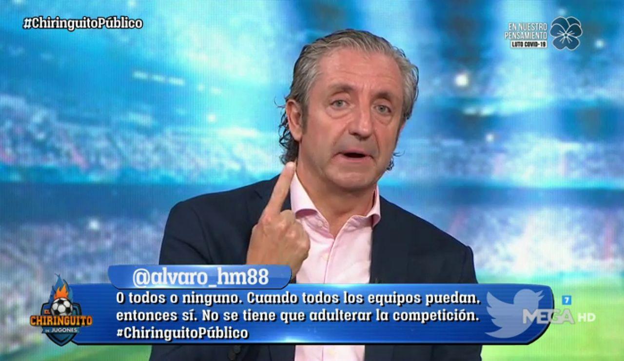 """Josep Pedrerol: """"Si puede asistir el público, el Real Madrid jugará la Champions en el Bernabéu"""""""