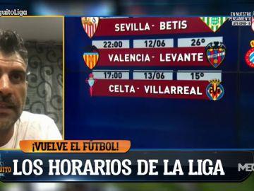 """Óscar Pereiro: """"Es una bendición que vuelva el fútbol"""""""