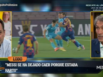 LOBO CARRASCO JUSTIFICA A MESSI