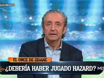 PEDREROL VE AL MADRID COMO GANADOR