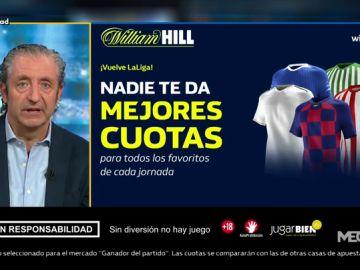 Josep te trae las mejores cuotas para que apuestes con William Hill