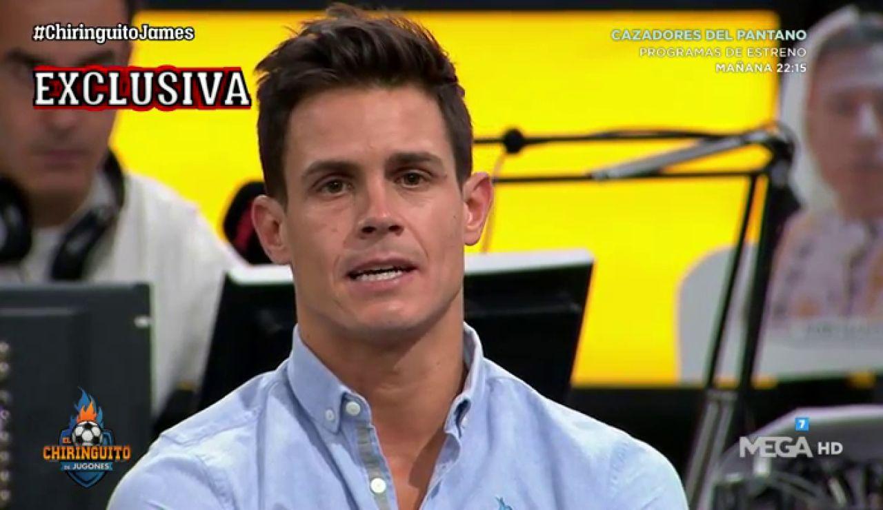 """Edu Aguirre: """"James está sufriendo por no jugar"""""""