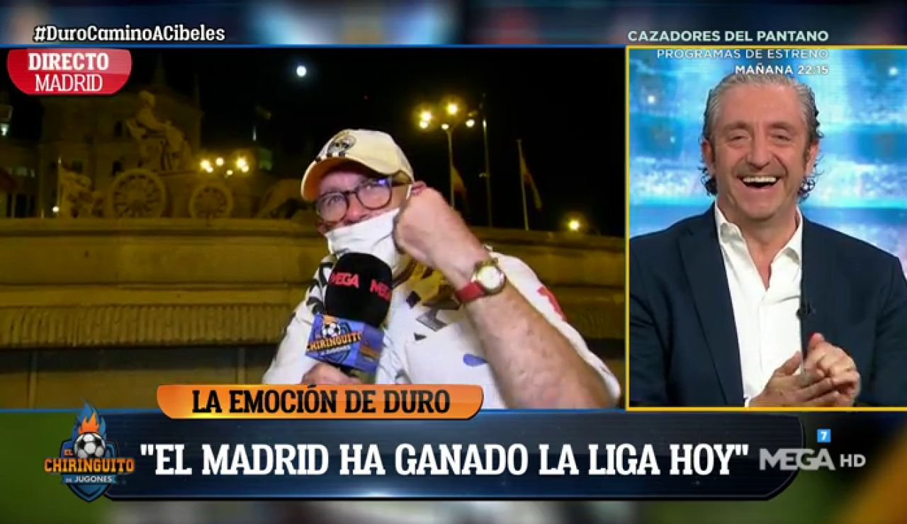 """Alfredo Duro: """"El Real Madrid ha ganado LaLiga hoy"""""""