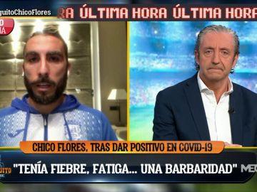 """Chico Flores, jugador del Fuenlabrada: """"Pensaba que me moría"""""""