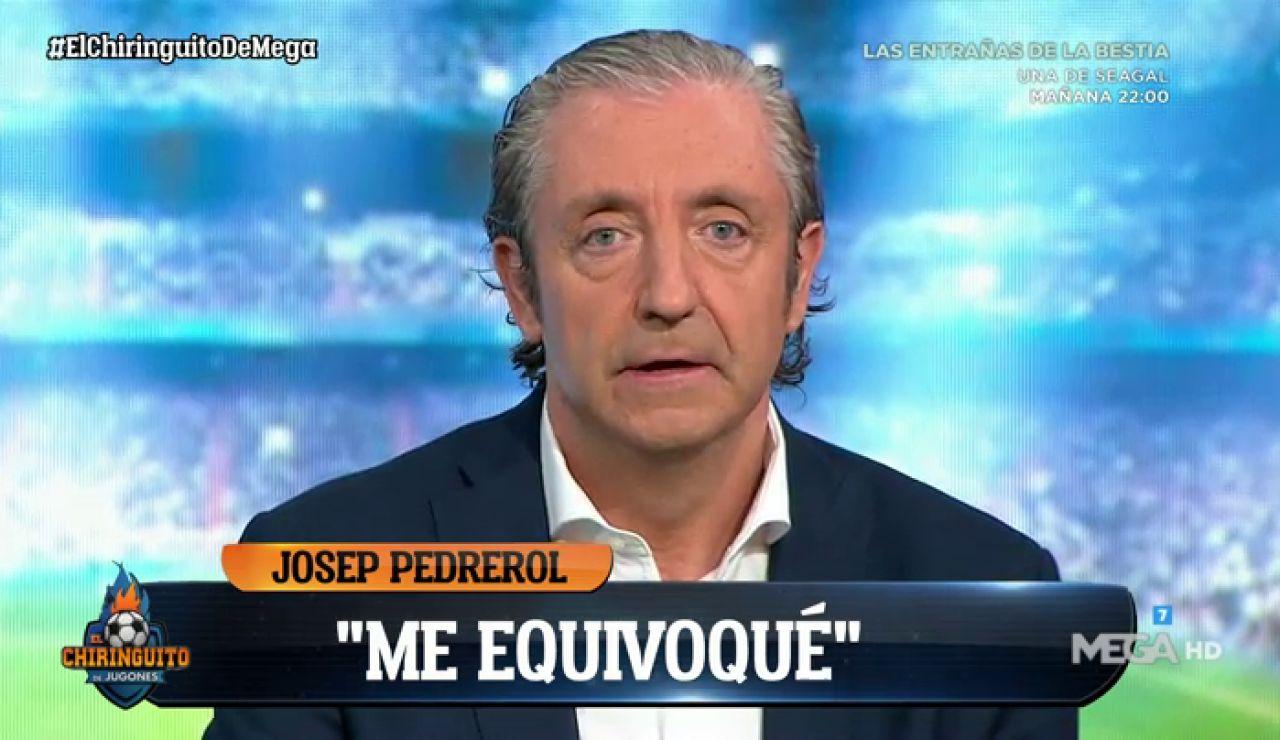"""JOSEP PEDREROL: """"LO SIENTO ZIDANE"""""""