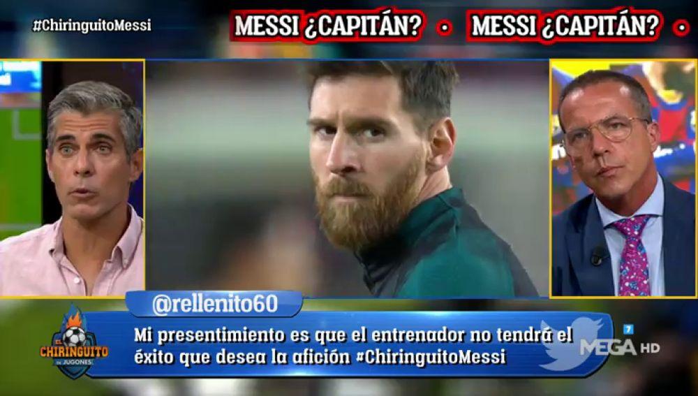 ¿Debe seguir siendo Messi capitán del Barça?