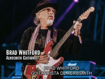 Brad Whitford, guitarrista de Aerosmith