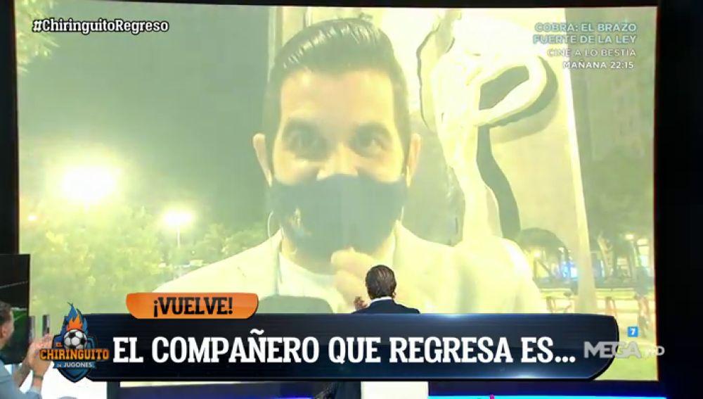 ¡JOSÉ ÁLVAREZ REGRESA A 'EL CHIRINGUITO'!
