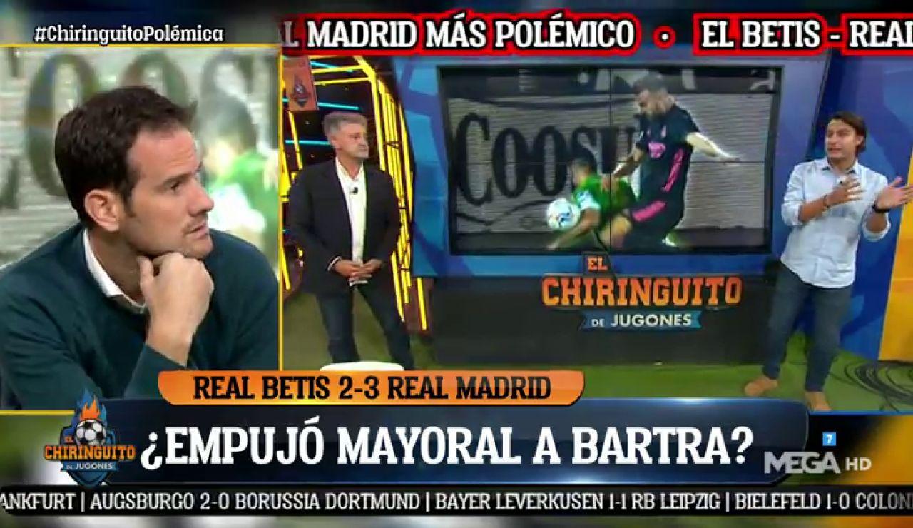 ¿Estuvo bien señalado el penalti a favor del Real Madrid por mano de Bartra?