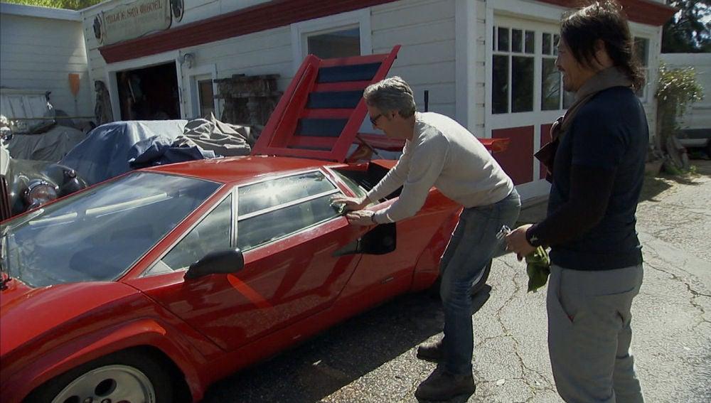 Atrapado en un Lamborghini