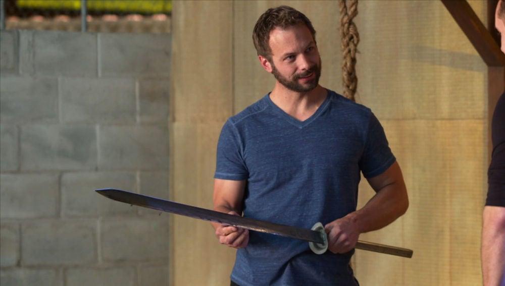 La espada no es apta