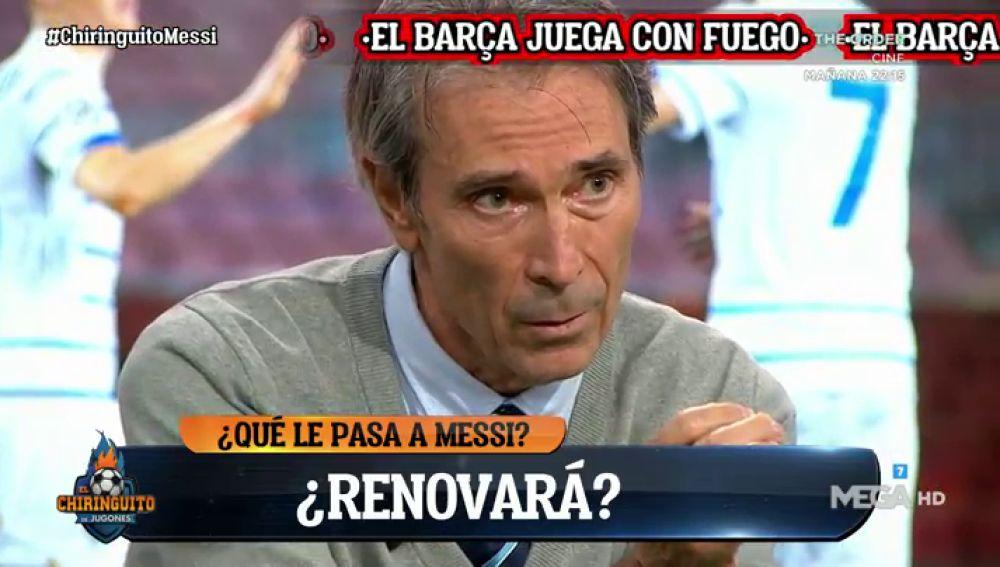 "Lobo Carrasco: ""Leo está buscando a Messi"""