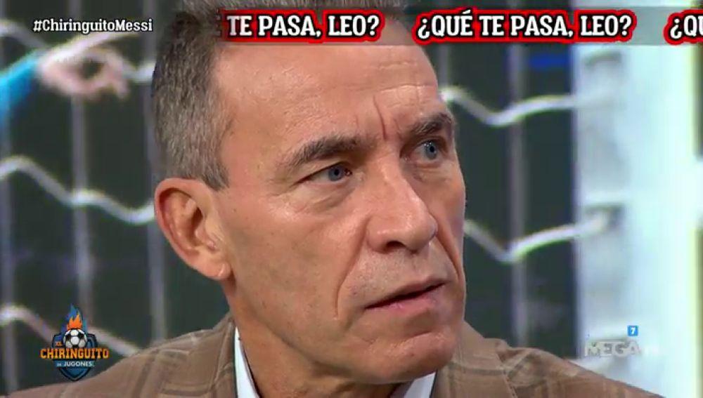 """Paco Buyo: """"Laporta sería el mejor presidente para el Barça"""""""