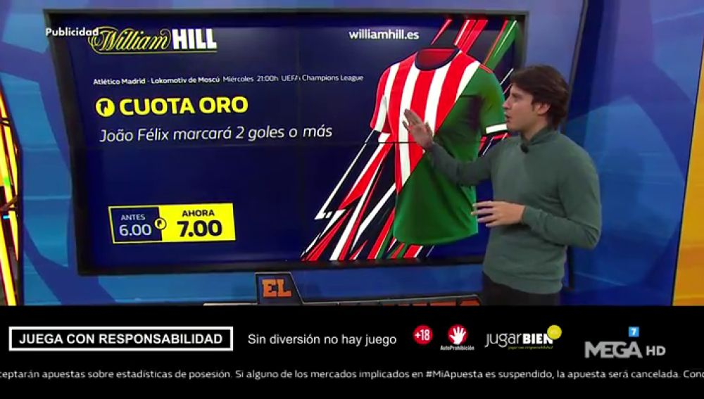 Juanfe te trae la mejores ofertas para que apuestes con William Hill
