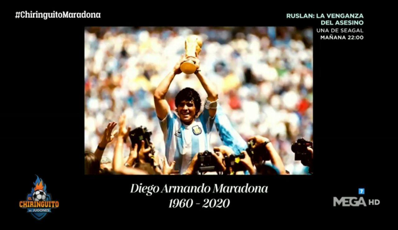Diego, los argentinos y el fútbol te extrañarán