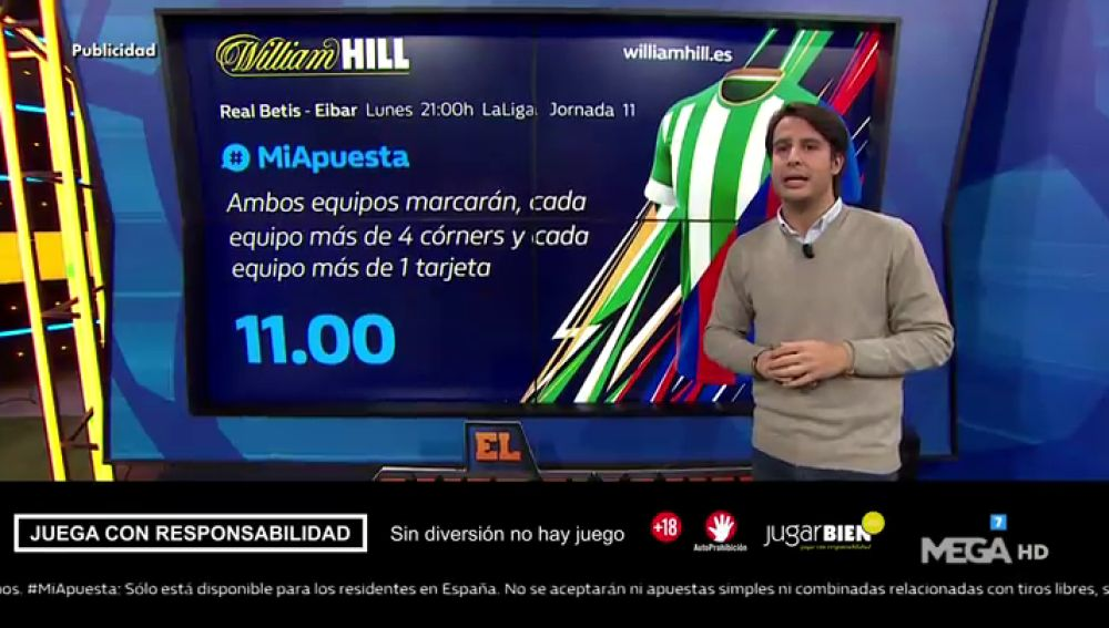 Juanfe Sanz te trae las mejores ofertas para que apuestes con William Hill
