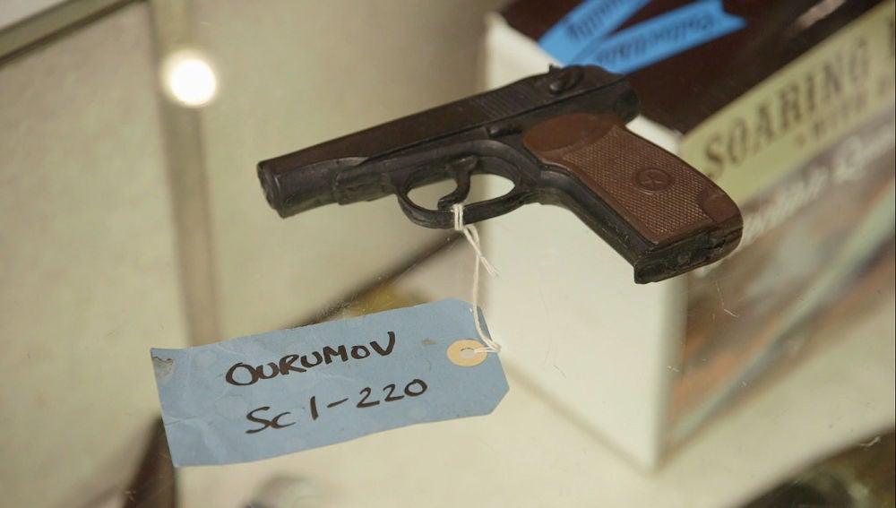 Pistola de atrezzo
