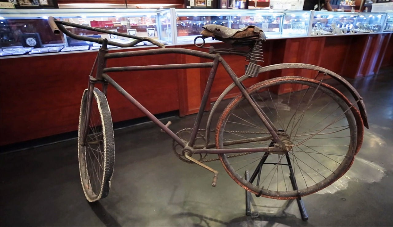 Una bici de 1900