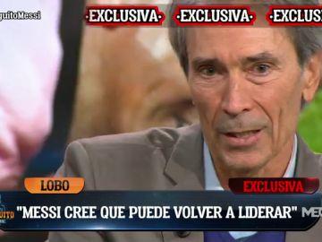 """""""HAY UN 50% DE OPCIONES DE QUE SIGA MESSI"""""""